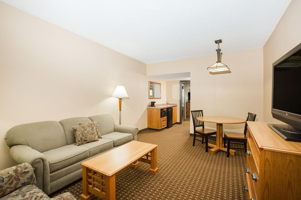large suite with couches